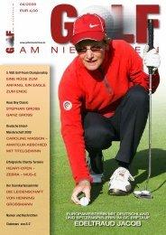 Ausgabe 04/2009 - Golf am Niederrhein