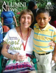 Summer 2011 issue (pdf) - Medical College of Wisconsin