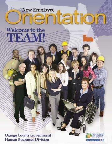 Employee Handbook - OrangeCountyFl.net