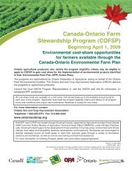 BMP Revised Jan11 06 - Ontario Federation of Agriculture