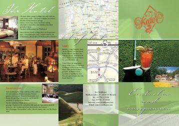 Golf-Arrangement - Hotel Waldkater