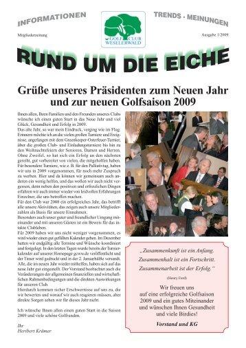 Download der Clubzeitung als PDF - Golfclub Weselerwald eV