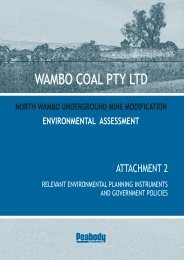 Attachment 2 - Relevant Environmental Planning ... - Peabody Energy