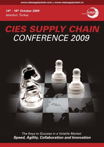CIES SUPPLY CHAIN CONFERENCE 2009 14th - Evenium