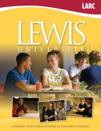 LARC Brochure - Lewis University