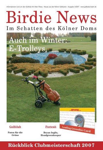 "Gesucht: ""Patinnen"" - Golfclub Am Alten Fliess eV"