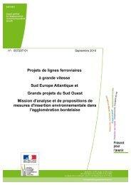 Rapport n° : 007297-01 - cgedd