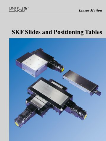SKF Slides and Positioning Tables