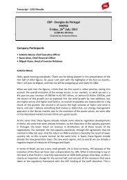Transcript – 1H13 Results - EDP