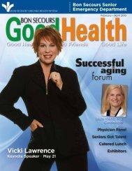 GoodHealth – February 2013 - Bon Secours Senior Health