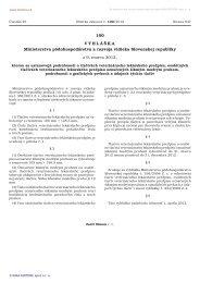 100/2012 Vyhláška Ministerstva pôdohospodárstva a rozvoja ...