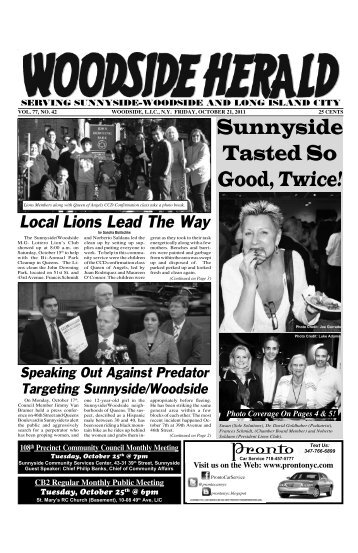 October 21, 2011 - Woodside Herald