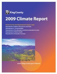 2009 King County Climate Report