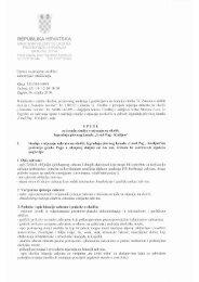 UPUTA Ministarstva za izradu studije o utjecaju na okoliš od 16.03 ...