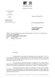 dossier de déclaration instruit au titre des articles L. 214-1