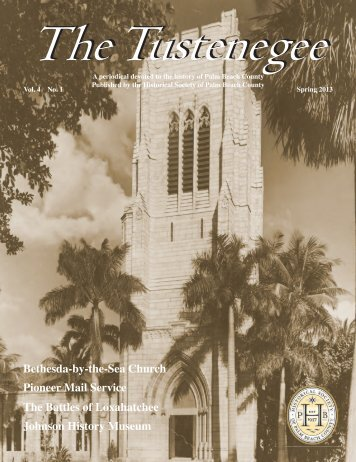 The Tustenegee - Palm Beach County History On-Line