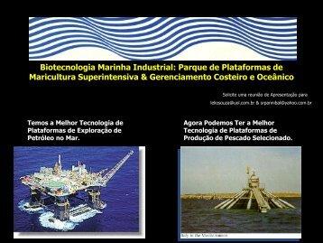 Biotecnologia Marinha Industrial: Parque de Plataformas de ...