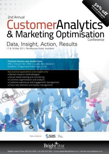 & Marketing Optimisation - Conferenz