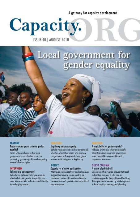 Download Local Government For Gender Equality