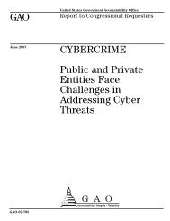 Cybercrime - SEARCH - National Consortium for Justice Information ...