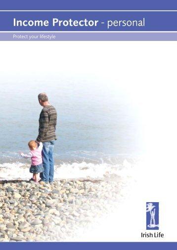 Income Protector - personal - Irish Life