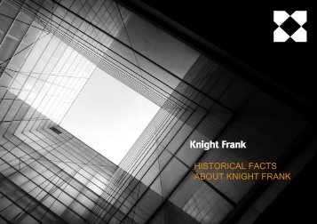 HISTORICAL FACTS ABOUT KNIGHT FRANK
