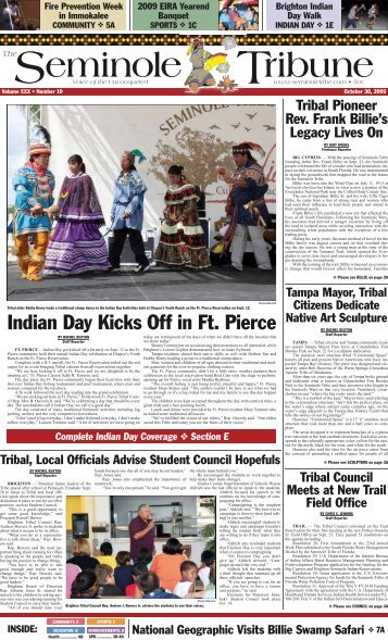 Indian Day Kicks Off in Ft. Pierce - Seminole Tribe of Florida