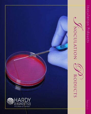 Inoculation Products - by Hardy Diagnostics