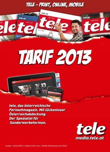 tele Mediadaten 2013 - media am südstern
