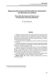 Hipoacusia Neurosensorial Reversible por Intoxicación con ...