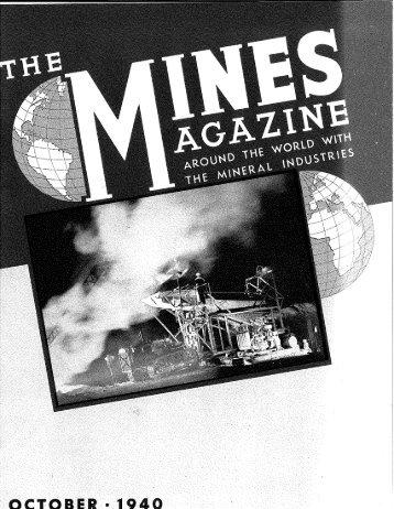 """mORSE """"TSSELiRE"""" GliBSSIFIERS - Mines Magazine - Colorado ..."""