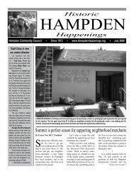 July 2009 (pdf) - Hampden Community Council