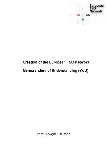 European TSO Network - IRSN
