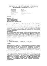 DECRETO Nº 2.514, MEDIANTE EL CUAL SE DICTAN ... - Felaban
