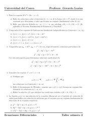 Gerardo Loaiza Ecuaciones Diferenciales Taller número 2