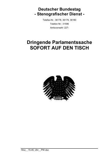 (SPD) am 21.04.2010 - Petra Hinz