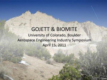 SDS - Aerospace Engineering Sciences Senior Design Projects ...