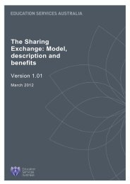 The Sharing Exchange - National Digital Learning Resources Network