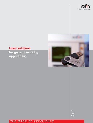 Laser marking - Rofin