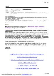 ij@uk2 Page 1 of 3 15/10/2006 Salam, Welcome to our Iraq4Iraqis ...