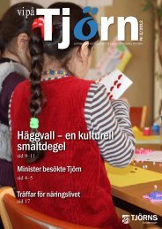 Häggvall – en kulturell smältdegel - Tjörns kommun