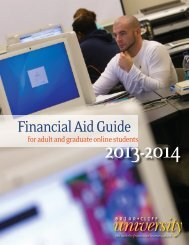 Adult Online Student Financial Aid Guide - Briar Cliff University