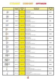 Catalog zavoare, incuietori automate 23-25