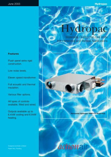 View Catalogue - Actionair