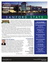 Sanford City Data Sheet - Metro Orlando Economic Development ...