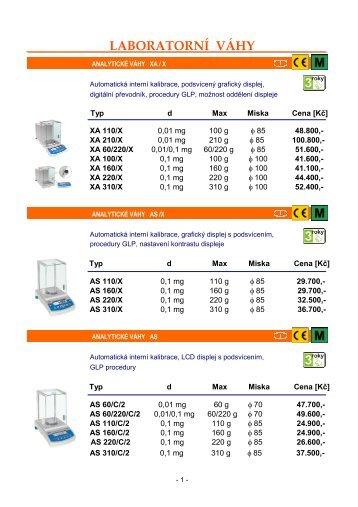 produktový katalog Radwag 2009 - Petr Hepnar
