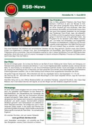 RSB-News - Golfclub Dortmund