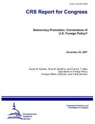 Democracy Promotion: Cornerstone of U.S. Foreign Policy?