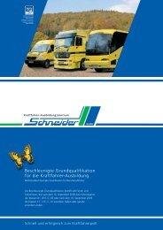 Beschleunigte Grundqualifikation für die Kraftfahrer-Ausbildung