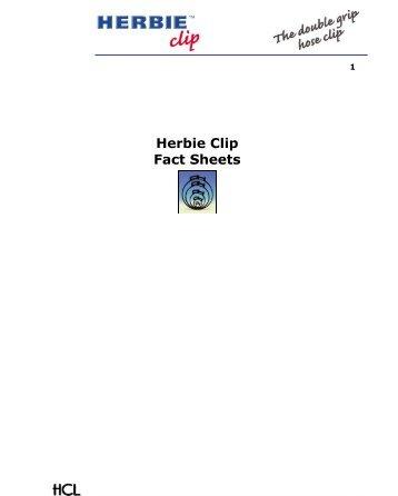 Herbie Clip Fact Sheet - Anixter Components